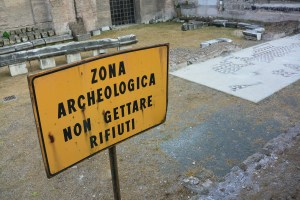 Rome Archeaological Site