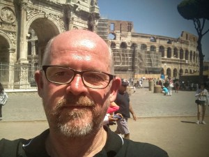 Near the Arch of Constantine, Rome