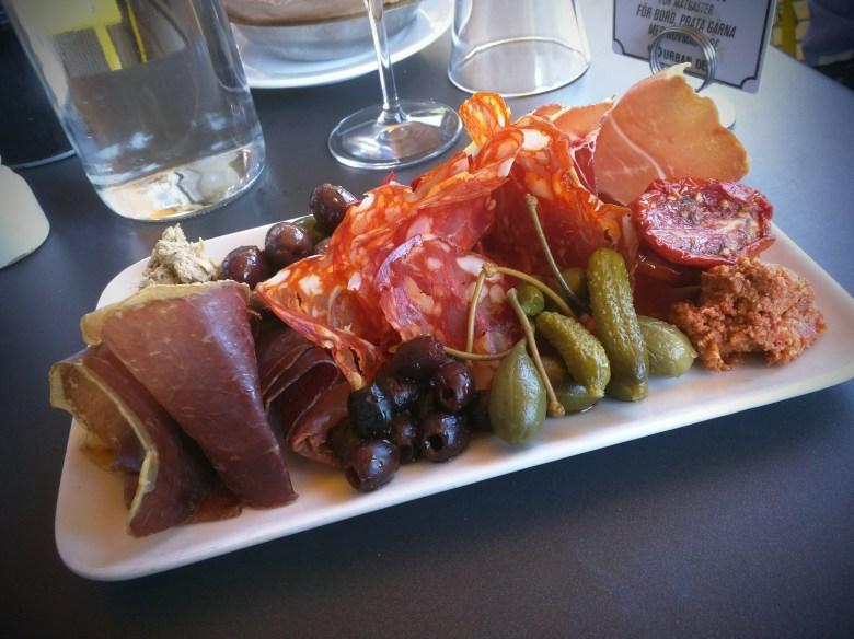 Lunch at Urban Deli in Stockholm