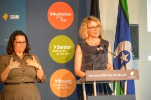 Dr Catherine Keenan was awarded NSW Local Hero