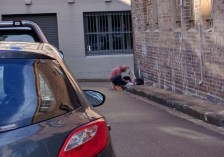 Making art in Surry Hills