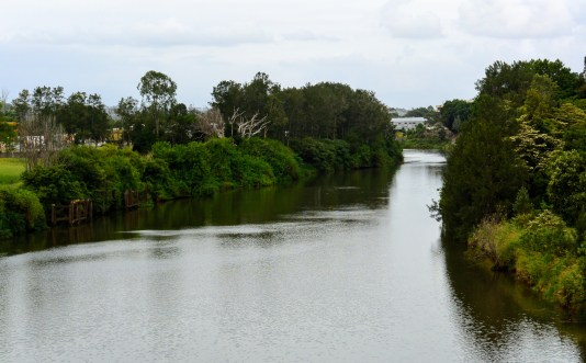 Wilson's River from the Ballina Street Bridge