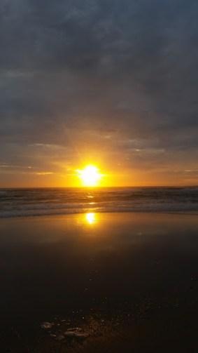 NYD Sunrise at Evan's Head
