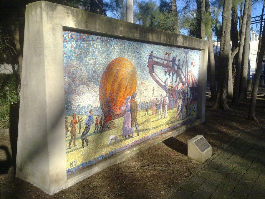 Wimbo Park Mural