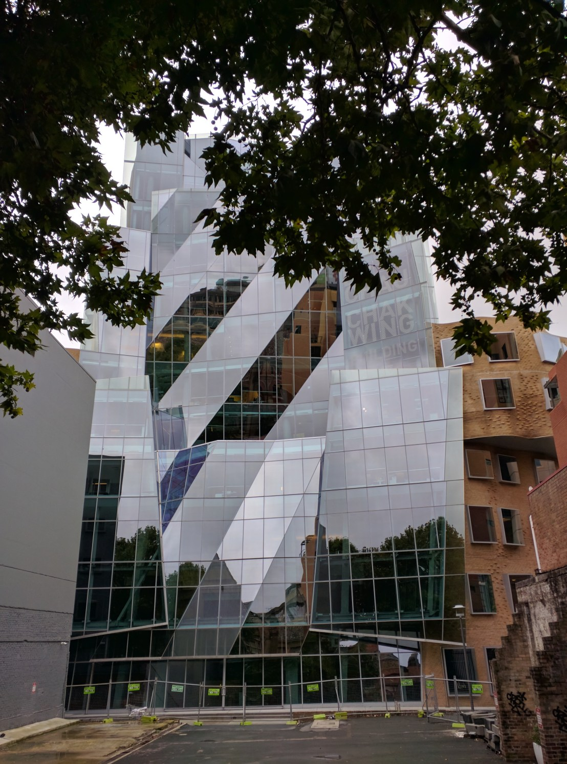 Frank Gehry building at Sydney's UTS