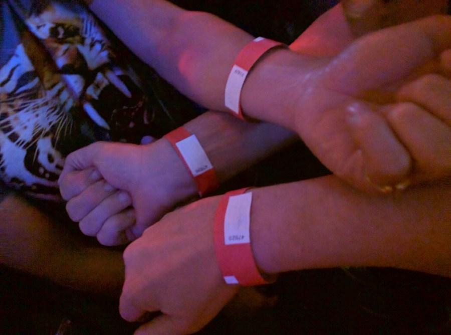 Wrist Bands at Stonewall