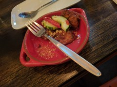 Awesome fish cakes at Jah's Thai in Surry Hills