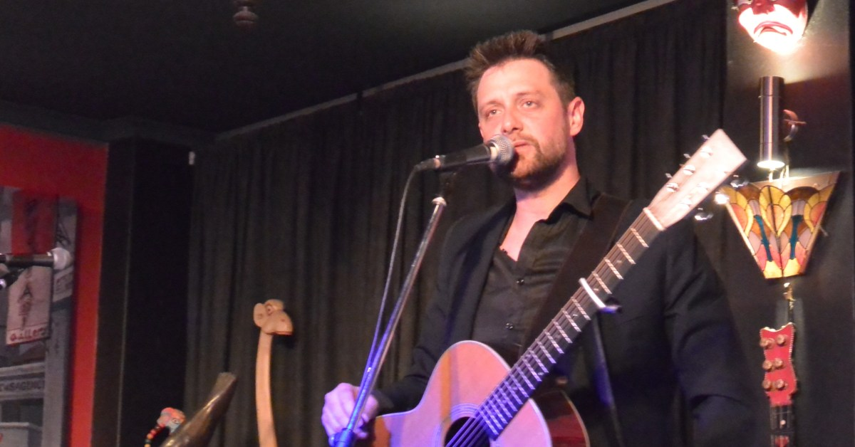 Shane Nicholson album launch