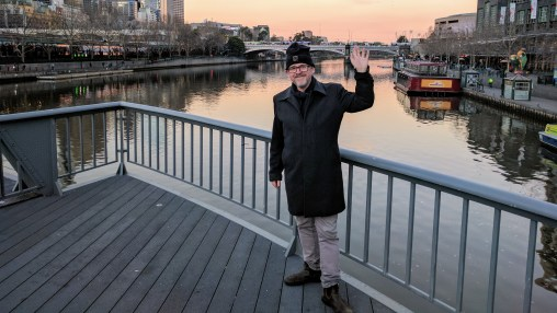 Visting Melbourne