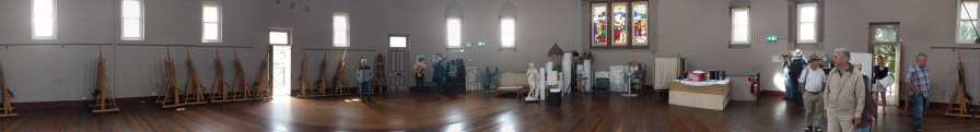 Life Drawing Room at National Art School, formerly Darlinghurst Gaol Chapel