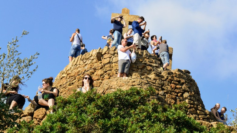 Guell Tourists