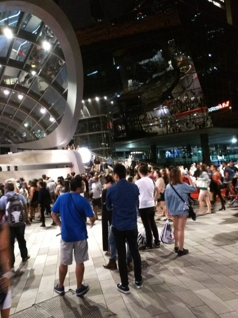 New Years Eve at Wynyard Station