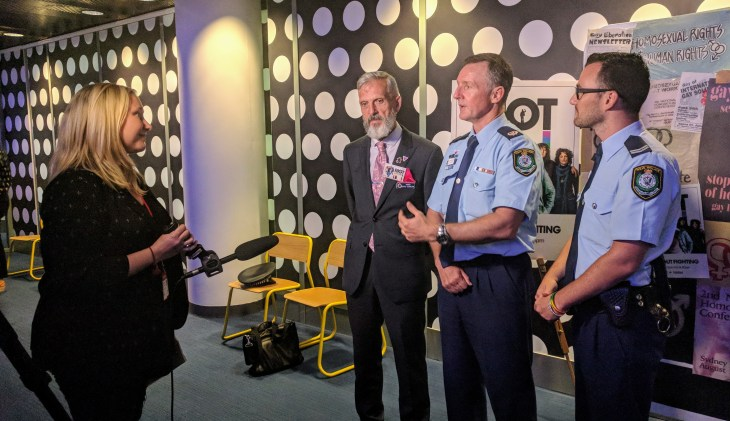 Riot screening at the ABC