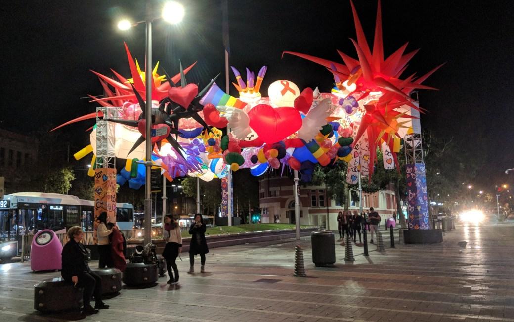 Mardi Gras Public Art
