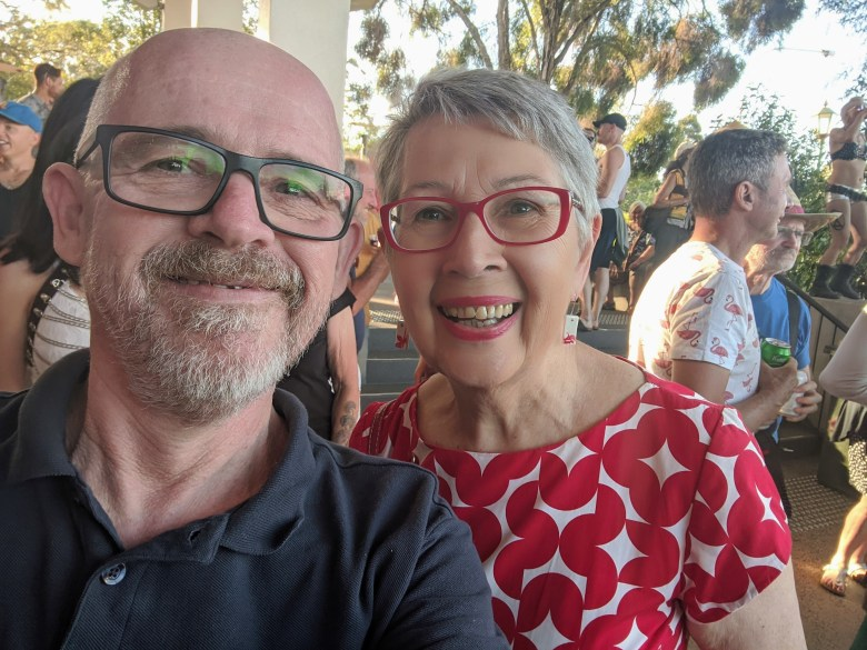 At the Tropical Fruits launch with the awesome former Mayor of Lismore, @JennyRDowell