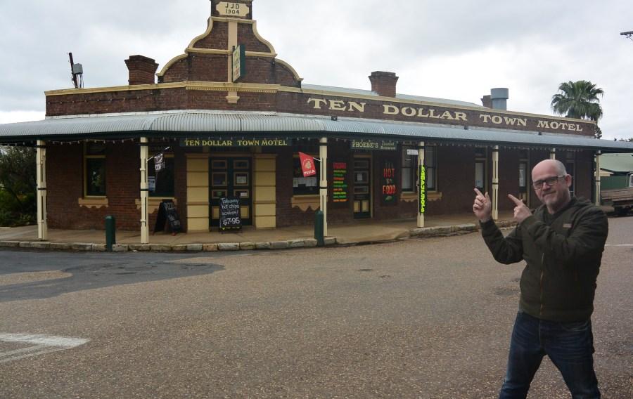 Ten Dollar Town Motel at Gulgong, NSW