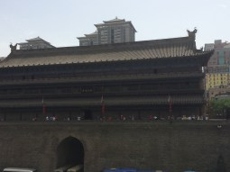 Gate Tower on Xi'an City Walls
