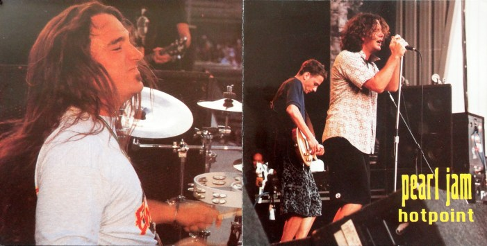 Pearl Jam Hotpoint cover