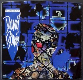Bowie Blue Jean Front