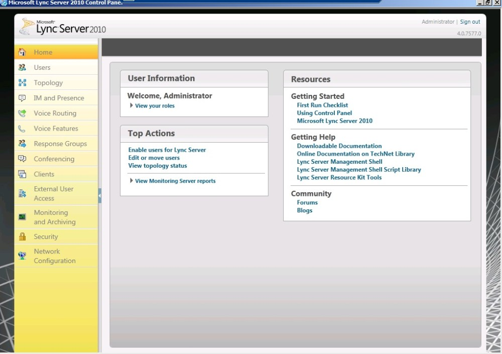 Lync Server Control Panel - Navigation to the webpage was canceled (6/6)