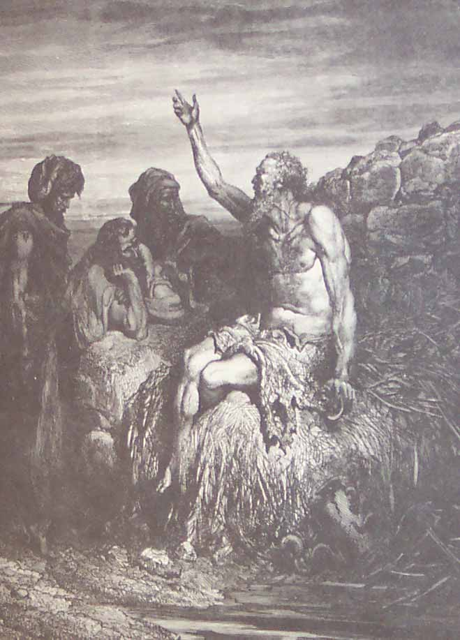"""""""Job and His Friends"""" by Gustav Dore"""