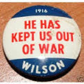 Wilson campaign button 2