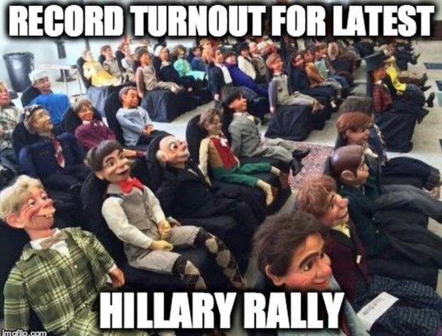 Hillary rally