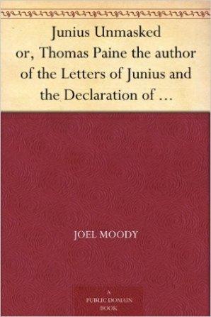 Junius Unmasked