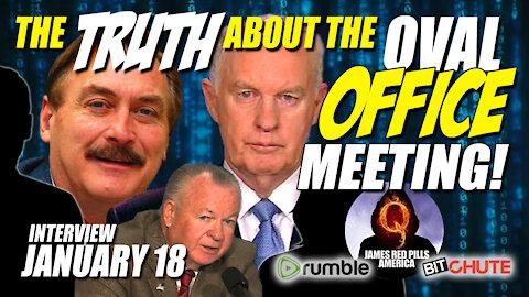 BREAKING! Truth About Oval Office Mtg! Lindell, McInerney, Fanning, Jones, Vallely, Fanning & Jones!