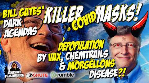 Microscopic Living Strands Being Found on Killer Masks! They're Using Nano-Tech To Wipe Us Out!
