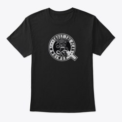Trust The Plan Wwg1 Wga Tshirts & Hoodies Black T-Shirt Front