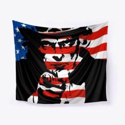 Uncle Sam Needs You Merchandise Black T-Shirt Front
