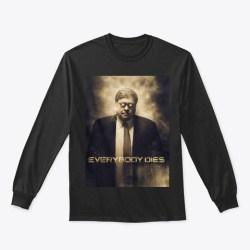 Bill Barr Is The Hammer Merchandise Black T-Shirt Front