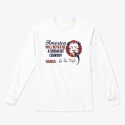 Don't Venezuela My America! White T-Shirt Front