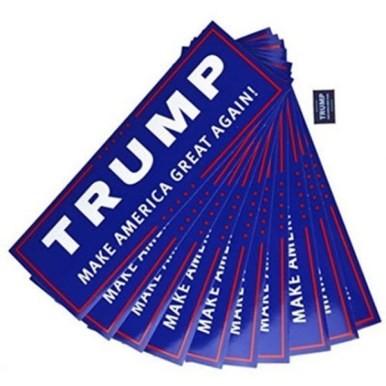 Free Trump Bumper Stickers