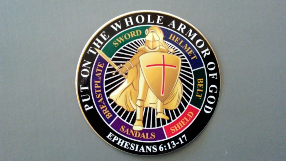 Whole Armor of God Stickers