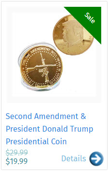 Second Amendment & President Donald Trump Presidential Coin