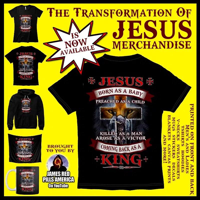 The Transoformation of Jesus Christ Merchandise
