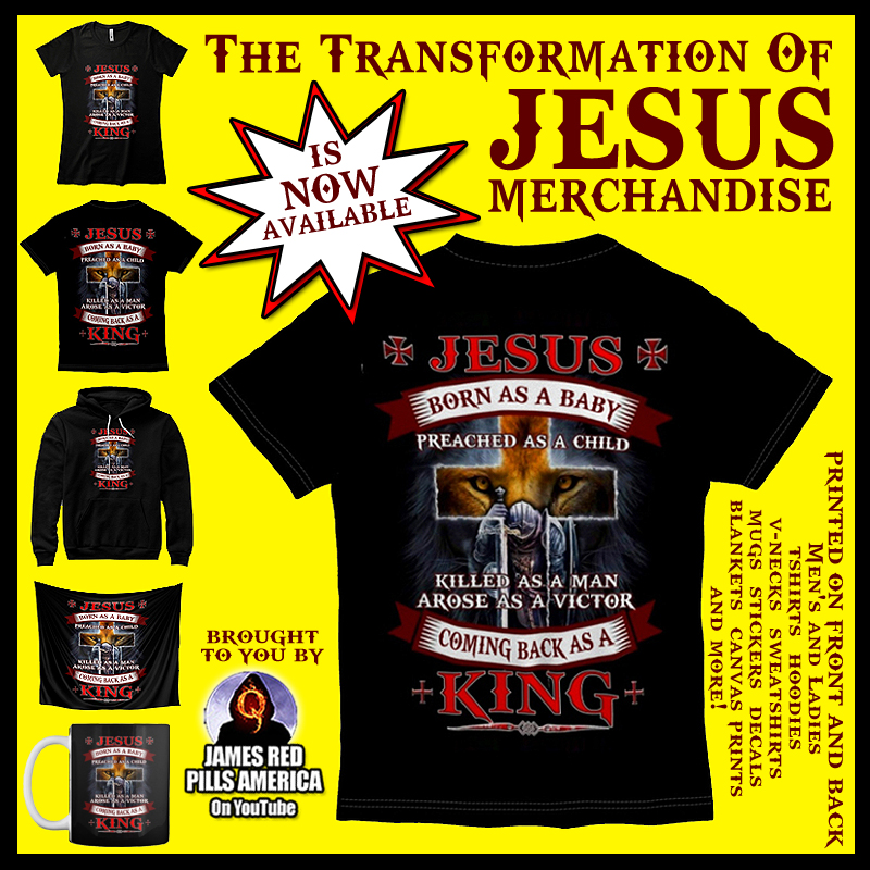 The Transoformation of Jesus Christ Merchandise