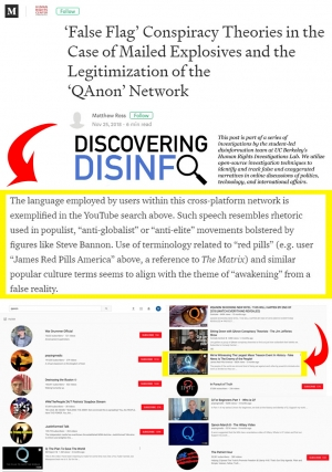 'False Flag' Conspiracy Theories In the Case of Mailed Explosives & The Legitimization of the Qanon Network