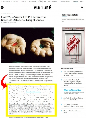 How The Matrix's Red Pill Became the Internet's Delusional Drug of Choice