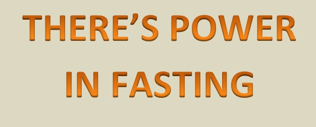 There Are Battles You Will Not Win Without Fasting