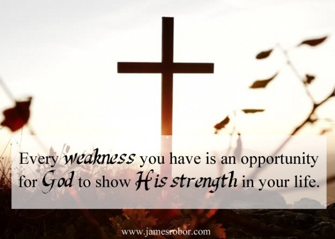 In Our Weakness, God is Strong