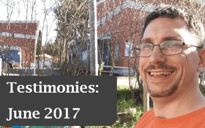 Testimonies: June 2017