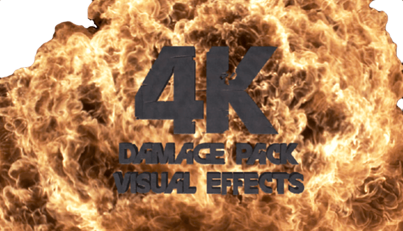 4K VFX Damage Pack – Visual Effects Library