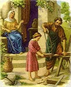 Bible Story-Jesus the Carpenter