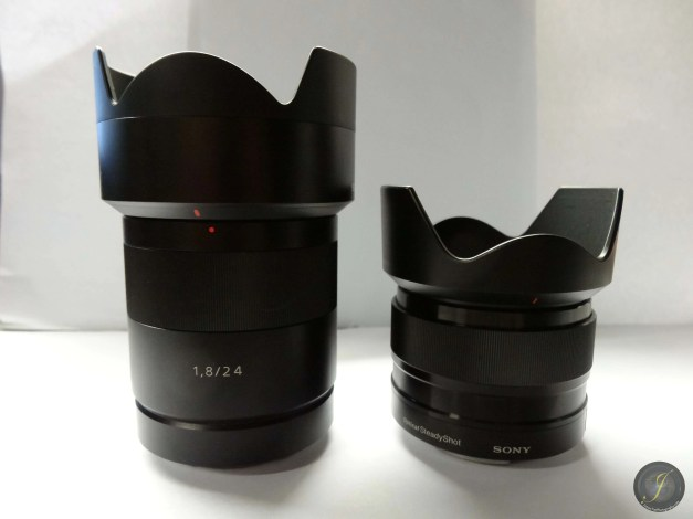SEL24F18 (Left) and SEL35F18 (Right)