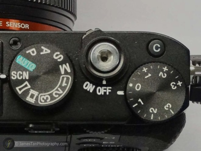 The Mode Dial, Shutter Button & Power Switch, and the Exposure Compensation Dial