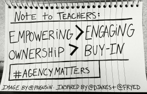Not just for teachers, but students and administrators too.
