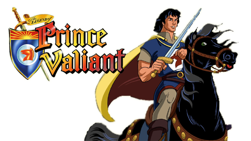 The Legend of Prince Valiant logo